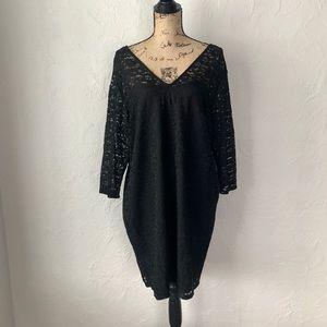 { H&M } Black Lace Tunic // NWT!